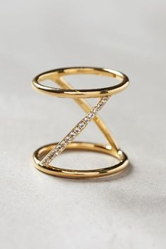 Elizabeth and James Velde Ring #anthrofave