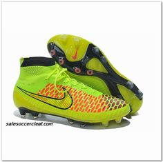 best loved 51f69 c6f17 Nike Magista Obra FG Volt Metallic Gold Iniesta World Cup 2014 102.00 Nike  Soccer Shoes,