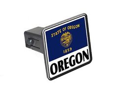 "Oregon - Flag - 1 1/4 inch (1.25"") Tow Trailer Hitch Cover Plug Insert Graphics and More http://www.amazon.com/dp/B009B0YCHW/ref=cm_sw_r_pi_dp_gbwEub1ZAR74B"
