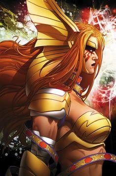 Angela: Asgard's Assassin #1 Variant Cover by Phil Jimenez