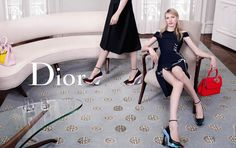 Julia Nobis, Feifei Sun, Helena Severin & Kasia Jujeczka for Dior Fall Winter Campaign, photographed by Willy Vanderperre. Fashion Advertising, Advertising Campaign, Fashion Shoot, Fashion Art, Fei Fei Sun, Campaign Fashion, Dior Shoes, Dior Haute Couture, Sports Luxe