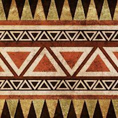 Aztec Art Print Más