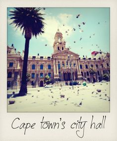 Cape Town's City Hall Stuff To Do, Things To Do, Cape Dutch, Cape Town South Africa, Table Mountain, Urban Architecture, Houses Of Parliament, Polaroids, Flora And Fauna