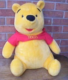 Large Disney Mattel Winnie The Pooh Plush | eBay