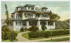 Summer Home on Broadway c. 1910 - Far Rockaway, NY
