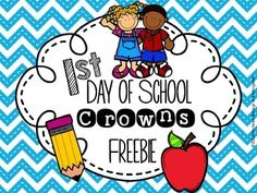 If you make their first day unforgettable…they will want to come back! You can do that with this set of crowns. It will be the perfect project to get your students actively engaged and excited about school. This download includes crowns for preschool, pre-k, kindergarten, 1st grade and 2nd grade.