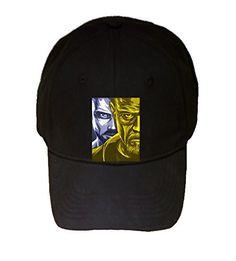 100% Black Cotton Adjustable Hat - Bromine Barium - Parody Design
