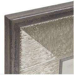 Silver Graphite Framed Mirror, 33x79 in.  - $109.99