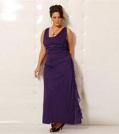 Modernos vestidos largos para gorditas 2012  http://vestidoparafiesta.com/modernos-vestidos-largos-para-gorditas-2012/