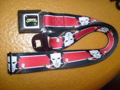 TEENAGE MUTANT NINJA TURTLE CASIE JONES SEATBELT STYLE ADJUSTABLE POLYESTER BELT #BUCKLEDOWN