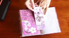 Azalea Themed Journal and Needle Case Project