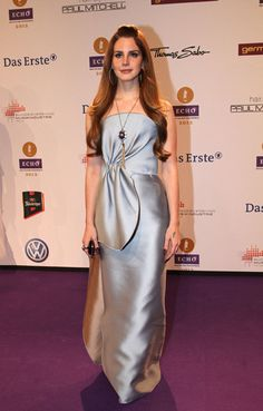 Lana Del Rey at the Echo Awards 2012 - Read the post about flat shoes on the red carpet on thisgirlfashiondiary.wordpress.com