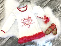 Candy Cane Cutie Dress:  on SALE for just $13.50 with a share for one week only!