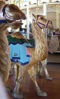 Seaport Village Carousel Looff Camels