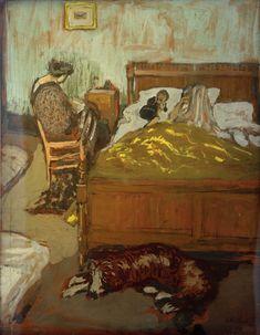Intérieur, 1908 - Edouard Vuillard (French,1868-1940) Nabi