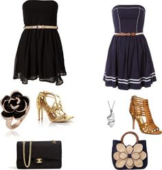 """""""outfits vs."""" by rossella99 ❤ liked on Polyvore"""