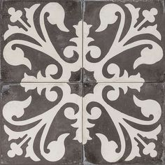 Cement Encaustic Tile Agadir Design — 963
