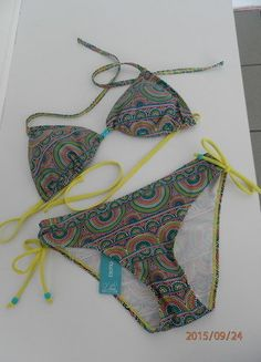 Kup mój przedmiot na #vintedpl http://www.vinted.pl/damska-odziez/inne-ubrania/10641611-bikini-esotiq-kolorowy-stroj-kapielowy-na-szyje-barcelona