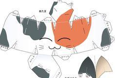 Talking Cat Paper Model