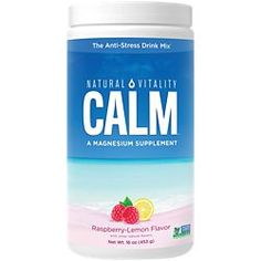 Natural Vitality Brand Products | The Vitamin Shoppe Calm Magnesium Powder, Natural Calm Magnesium, Magnesium Sources, Magnesium Citrate, Magnesium Supplements, Natural Supplements, Lactation Consultant, Anti Stress