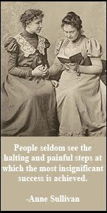 Anne Sullivan is my hero! She was the ultimate teacher! Teaching Us History, Teaching Social Studies, Free Education, Education Quotes, The Miracle Worker, Anne Sullivan, My Children Quotes, Graphic Quotes, School Counselor
