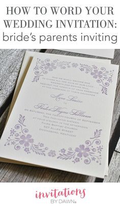 32+ Great Picture of How To Make A Wedding Invitation