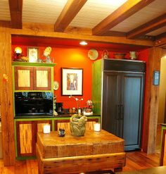 Wood Ceiling Beams - Timber Frame Ceiling Beams - Beamed Ceilings - Exposed Beam Ceiling - Solid Wood Beams - Homestead Timber Frames - Crossville Tennessee