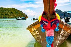 #khophiphi #thailand #boot #thebeach Alle Informationen zu meiner Thailand Reise findet ihr jetzt in der Zusammenfassung hier. ;-)🙆🏻🐠🌴🌴