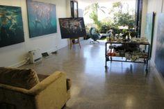 Martine Emdur's studio