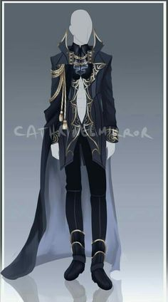 (CLOSED) Adopt Auction - Outfit 37 by (he dresses like an ald nobleman) Anime Outfits, Boy Outfits, Cute Outfits, Modelos Fashion, Anime Dress, Drawing Clothes, Character Outfits, Character Design Inspiration, Fashion Sketches