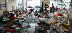 After 3:00 in the afternoon, merchants call it a day and the market begins to cool down. But then, the spots that had been occupied by street vendors are taken by street stalls selling meals utilizing fresh seafood from the morning market. Lined up like open-air cafés, the stalls have turned into a must-stop destination for travelers visiting Yeosu.
