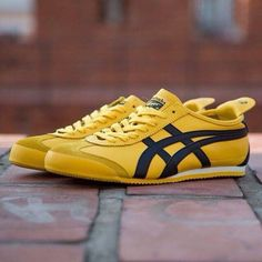 Onitsuka Tiger 'Mexico 66'. My next pair of running shoes. Needed to find something flat after reading 'Born To Run'