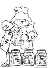 Paddington Bear coloring pages on Coloring-Book.info.