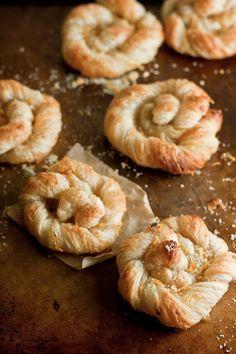 Orange Sugar Danish Pastries