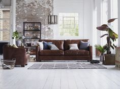 Stylish, Luxury Handcrafted 2 Seater Leather Sofa Classic Style With Clean,  Modern Lines And Slim Arms Deep, Wide Seats Are Invitingly Comfortable