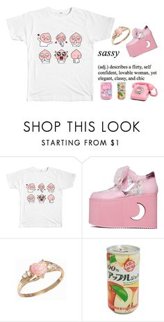 """""""Apeach Outfit"""" by boogzelapparel ❤ liked on Polyvore"""