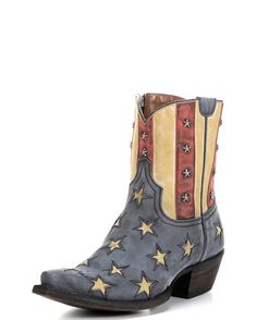 Paint the town red, white and blue in the Old Glory Boot by Colt Ford and Rebel Boots.