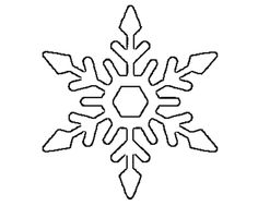 free printable snowflake templates large small stencil patterns pinterest snowflake template stencil patterns and free printable