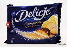 Delicje24.pl - Twój internetowy sklep spożywczy - WEDEL DELICJE POMARAŃCZOWE 294g