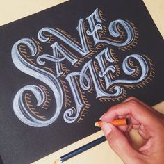 Good typography — Work by @alfonsusabim  Follow us: @goodtypography...