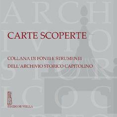 Archivio Storico Capitolino - Collana Editoriale