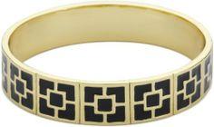 Trina Turk Enamel Brick Gold and Black Bangle Bracelet Trina Turk, http://www.amazon.com/dp/B004I8V3X8/ref=cm_sw_r_pi_dp_Halbrb02W0XHX