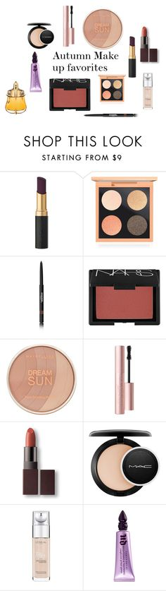 """""""Autmn faves"""" by anais-wardrobe on Polyvore featuring beauté, MAC Cosmetics, Chanel, NARS Cosmetics, Maybelline, Laura Mercier, L'Oréal Paris, Urban Decay et Thierry Mugler"""