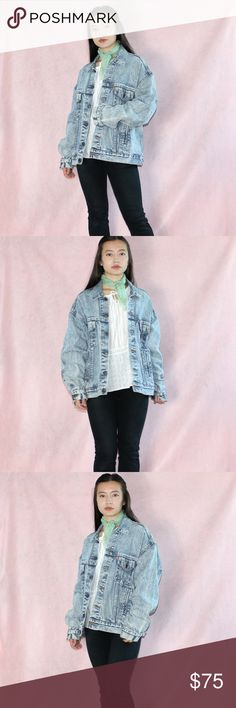 VTG 1980s Acid Wash Levi's Denim Jacket NO SWAPS~NO LOWERING SHIPPING~NO FREE SHIPPING  Brand~ Levi's  Style~ Vintage 1970s acid wash Levi's jacket! These are just so cool and hard to find, especially the ones with some age on them!  Size~ L  Made in the USA Levi's Jackets & Coats Jean Jackets