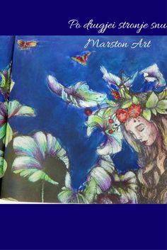 Po drugjej stronje snu von Karolina Kubikowska, Malbuch koloriert von Marston Art