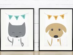Check out our nursery art prints here: autor emugallery Baby Deco, Illustrations, Decoration, Kids Bedroom, Little Ones, Baby Room, Alice, Snoopy, Children