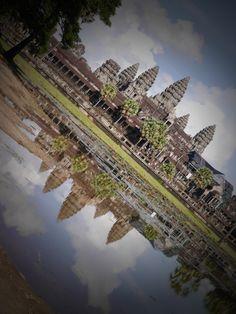 カンボジアの世界遺産 アンコールワット Angkor Wat@Kambodia