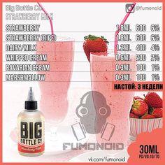 Big Bottle Co, Strawberry Milk