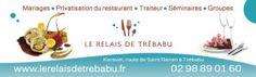 Mariage Brest : Restaurant de mariage à Trébabu Le Relais de Trébabu Brest, Restaurant, Catering Business, Weddings, Diner Restaurant, Restaurants, Dining