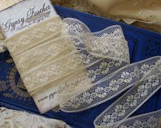 Vintage French Valenciennes Insertion Lace